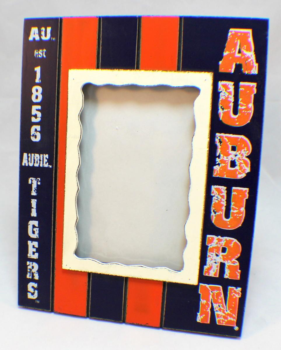 Auburn Tigers Aubie Collegiate Licensed Wooden Photo