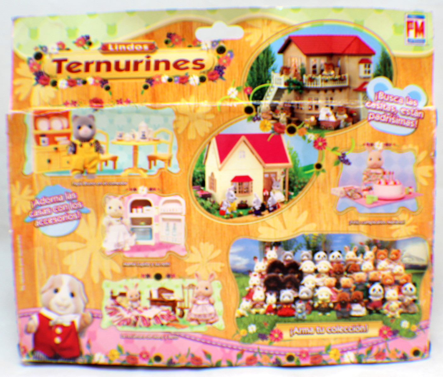 ... Sylvanian Families Kittens Cat Ternurines Living Room Set Rare Mexican  Packaging Part 55