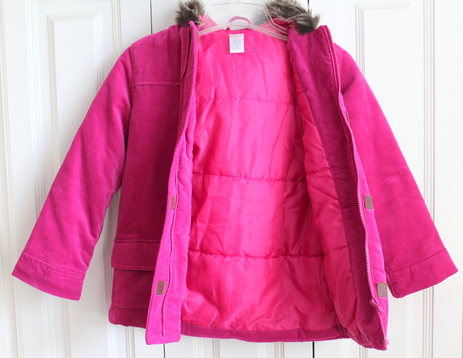 Fuschia Pink Coat Han Coats