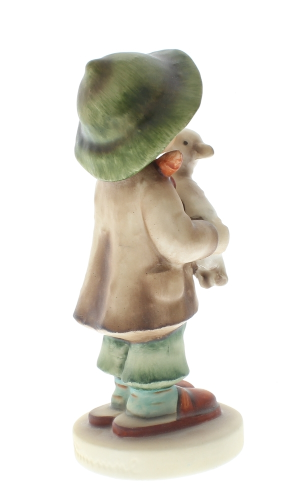 Hummel Goebel Figurine Lost Sheep 68 A Little Boy Caring