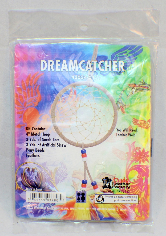 Dream catcher make it yourself craft kit by tandy leather factory solutioingenieria Gallery