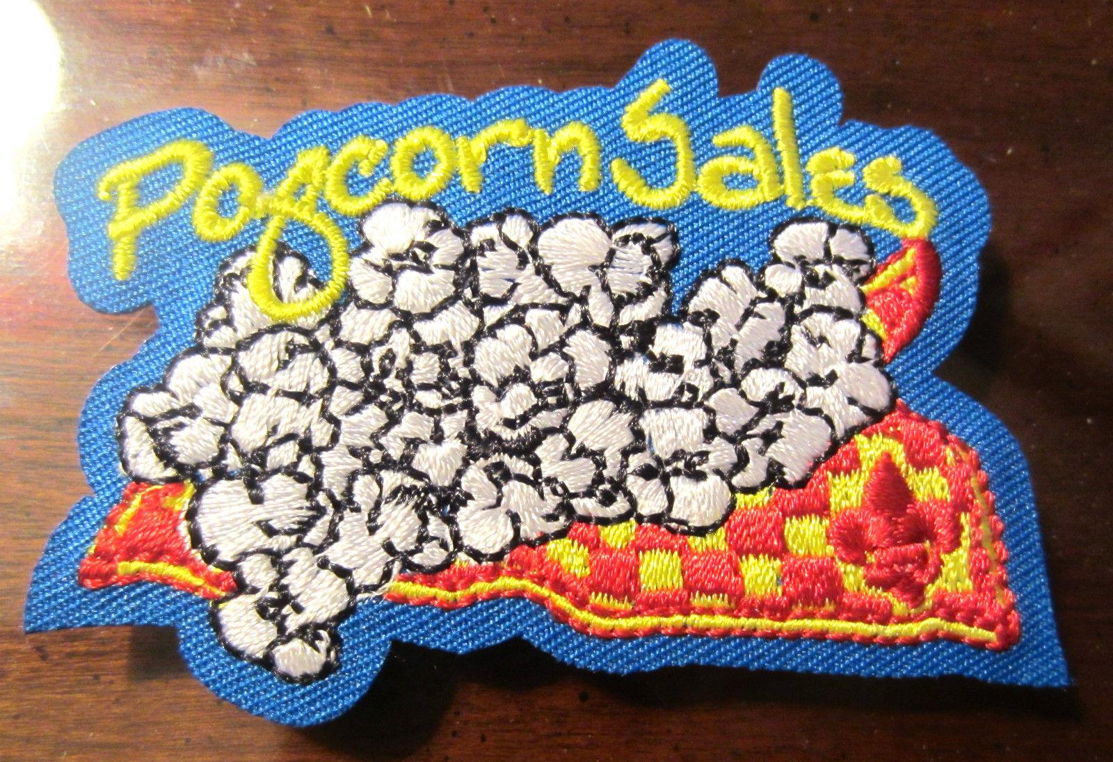Bsa Boy Scout Uniform Patch Bsa Popcorn Sales | eBay