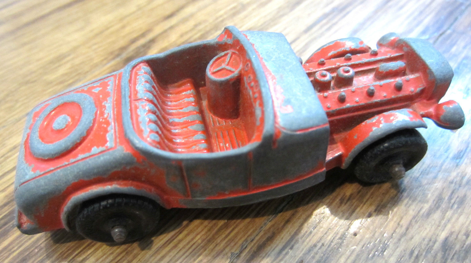 Tootsie Toy Model B Hot Rod Race Car Die Cast Racer 3\