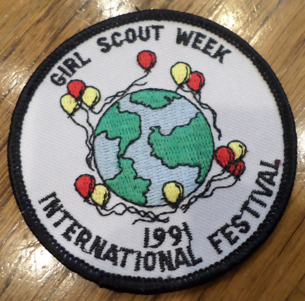 Girl scout week patch 2014