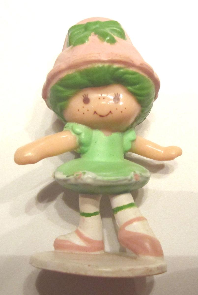 Lime Chiffon Ballerina Mini Strawberry Shortcake PVC Figure Figurine ...