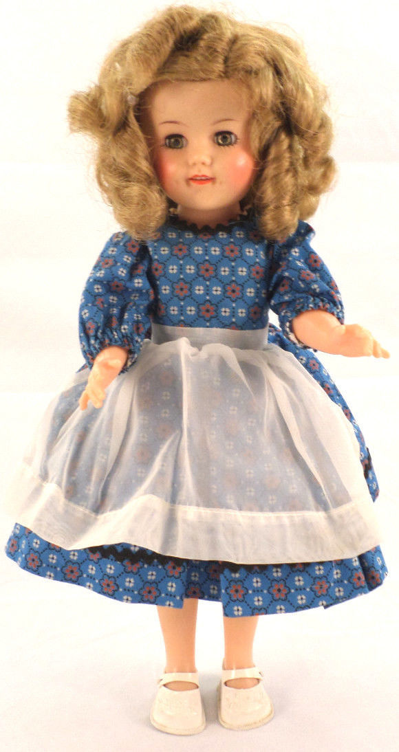 Vintage 1950s Vinyl Shirley Temple Doll 14 15 Quot With