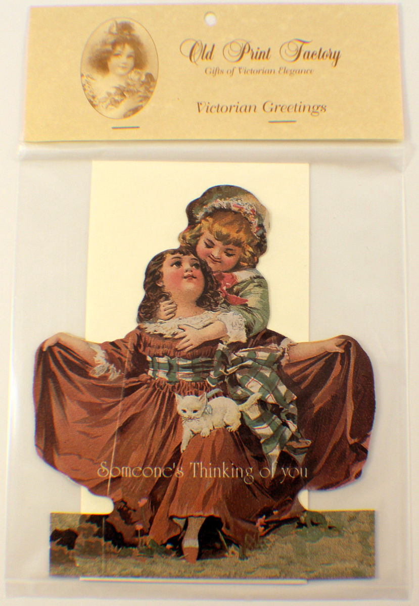 Victorian Turn Of The Century Someones Thinking Of You Greeting
