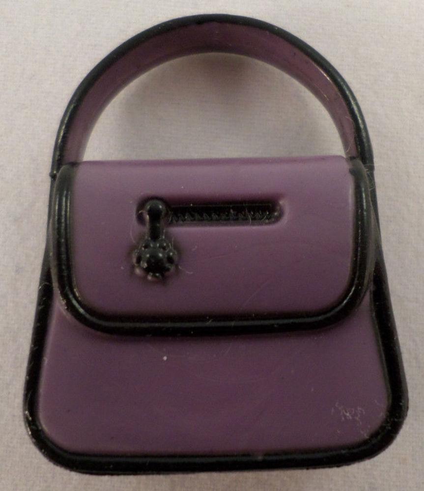 American Girl Mini Illuma Groovy Room Purple Handbag Purse