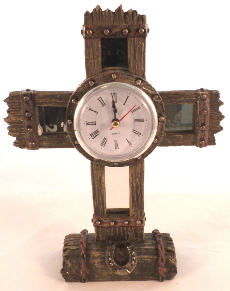 montana west home decor table free standing cross with mirrors new ebay