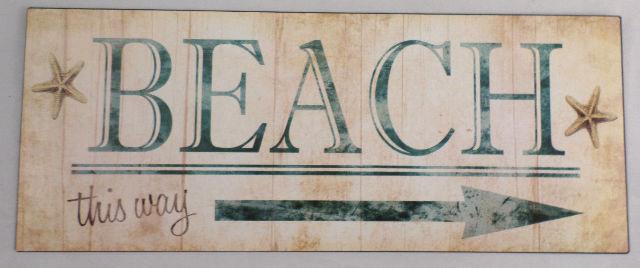 PP0077 Vintage Tropical Bar Sign Plate Beach Bar Pub Cafe