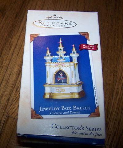 Hallmark Jewelry Box Ballet 1St Edition 2002 New Box Dragonfly