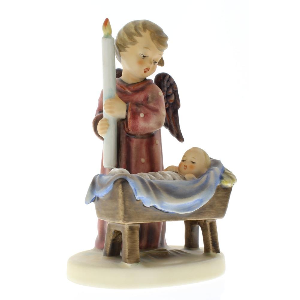 goebel hummel figurine 194 watchful angel 6 5 inches tall