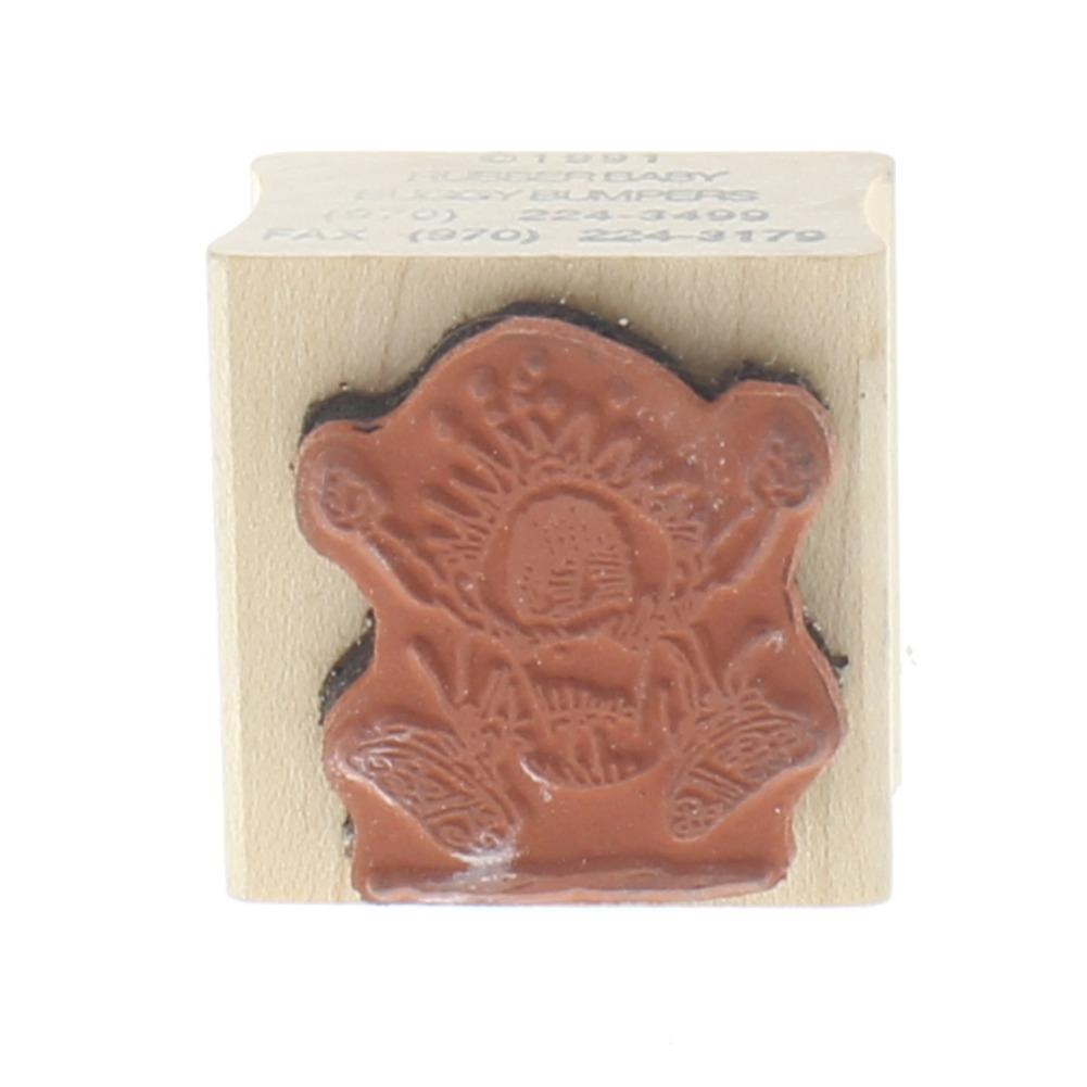 The Rubber Baby Buggy Bumper Temper Tantrum Wooden Rubber Stamp ...