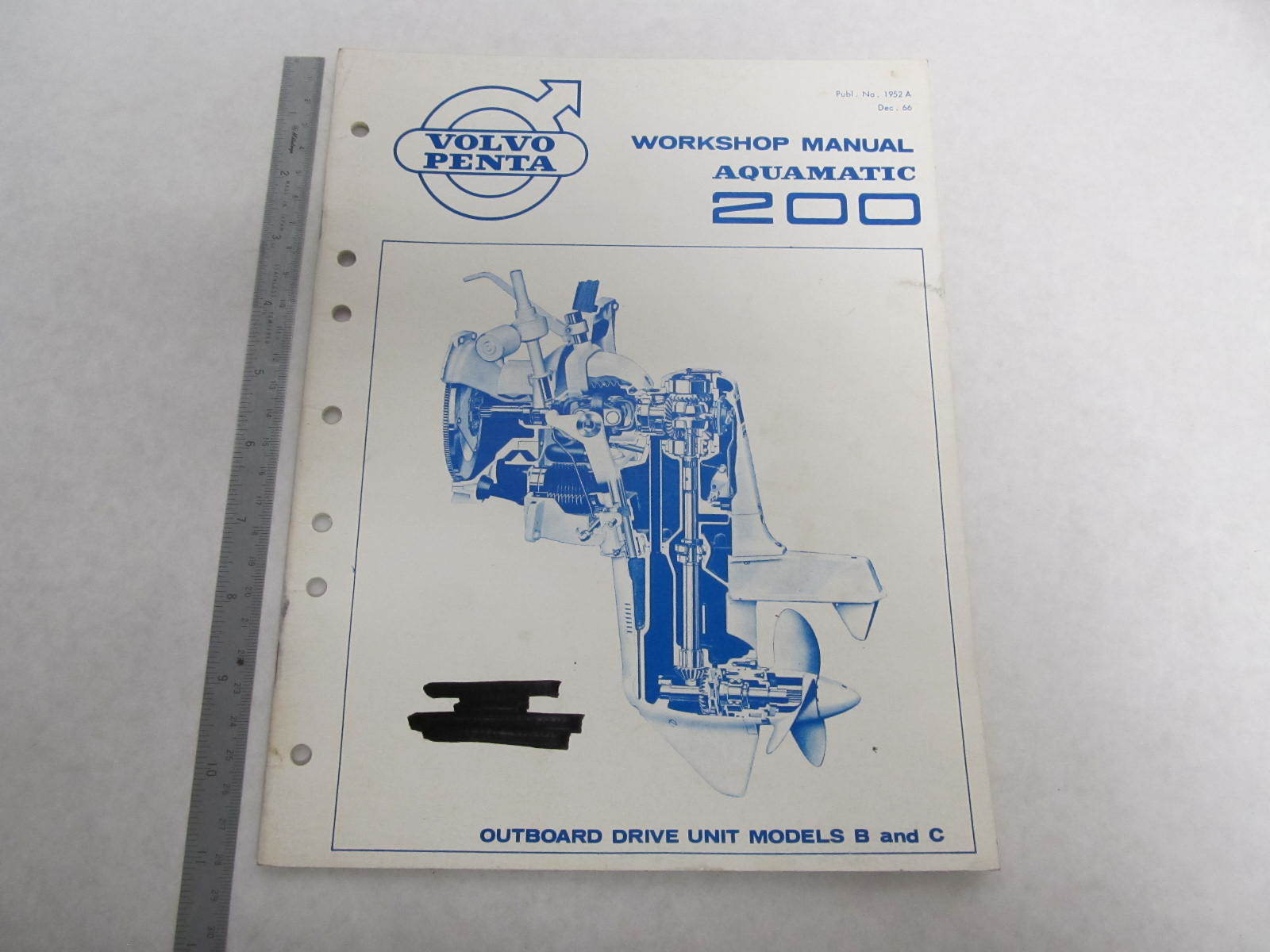 1952a 1966 volvo penta aquamatic 200 service workshop Volvo Penta Parts Volvo Penta Engine Manuals