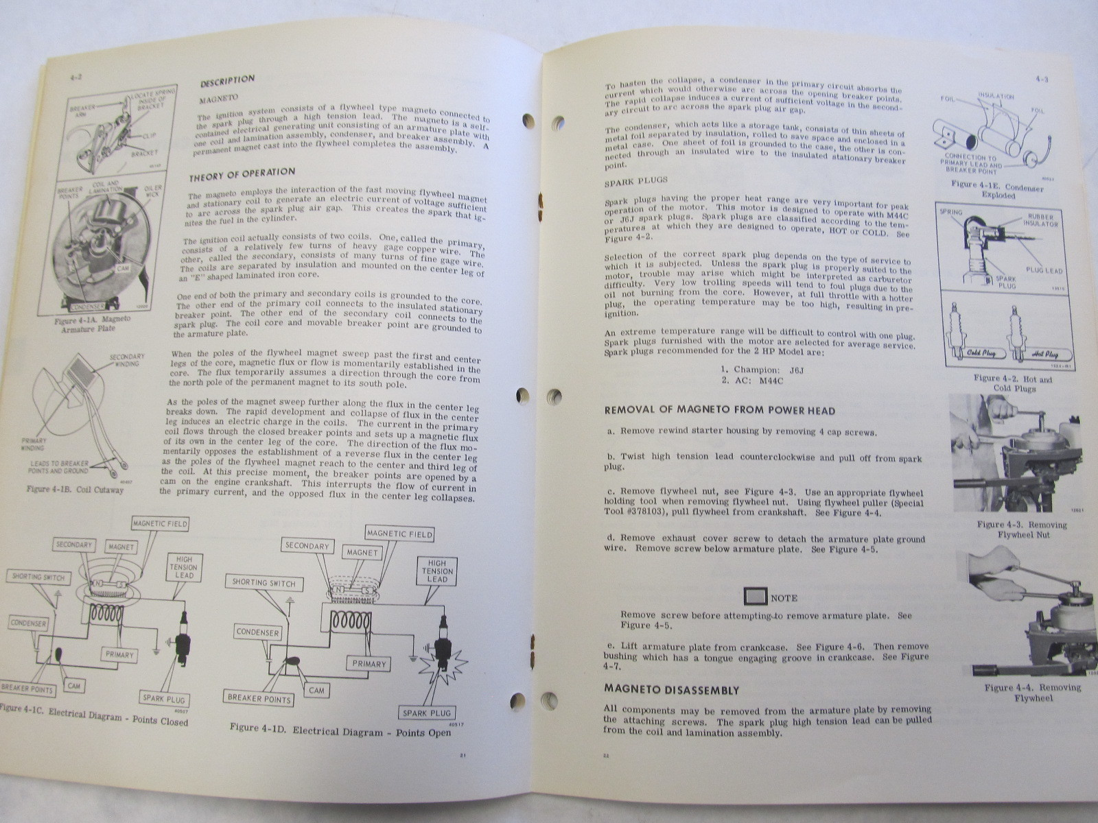 1972 Evinrude Outboard Service Manual 2 Hp Mate 2202