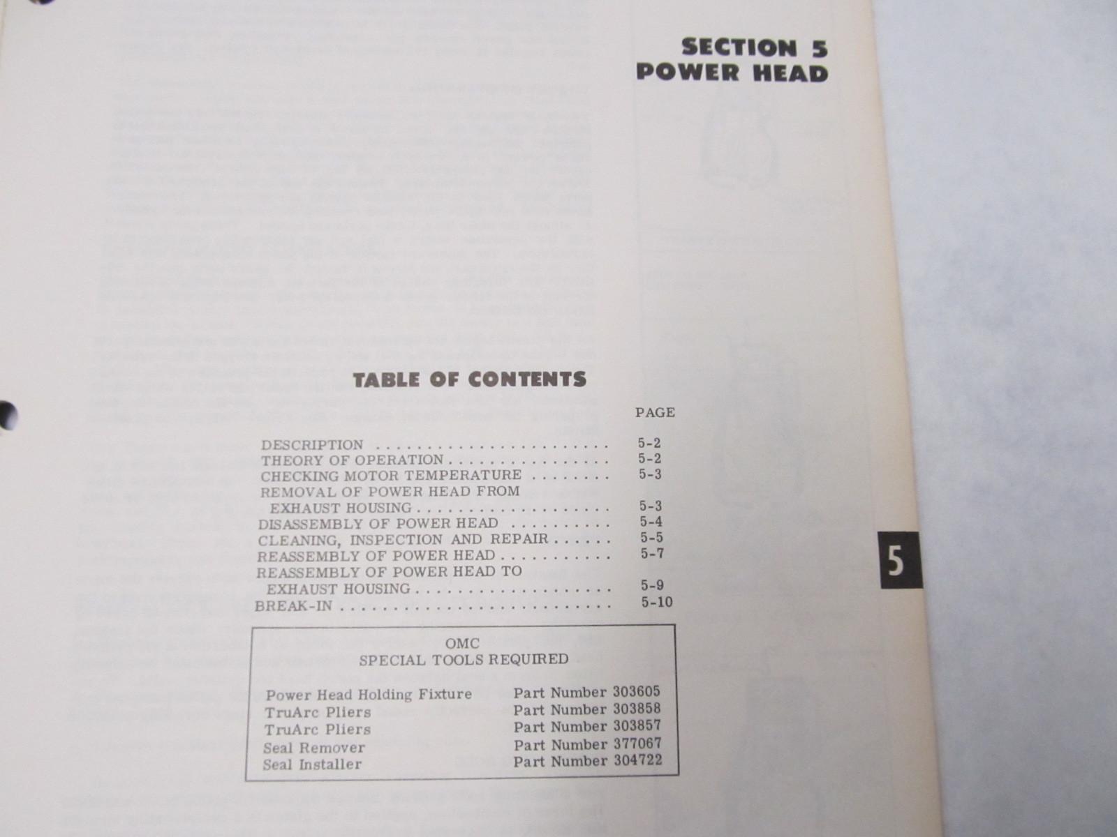 1974 Evinrude 25 Hp Repair Manual