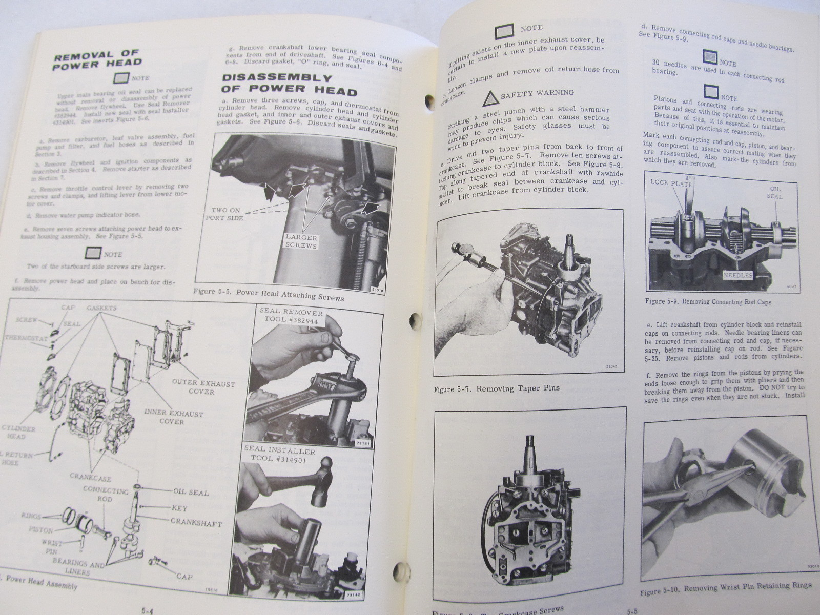 1979 Johnson Outboard Service Manual 6 Hp 6r79 6rl79