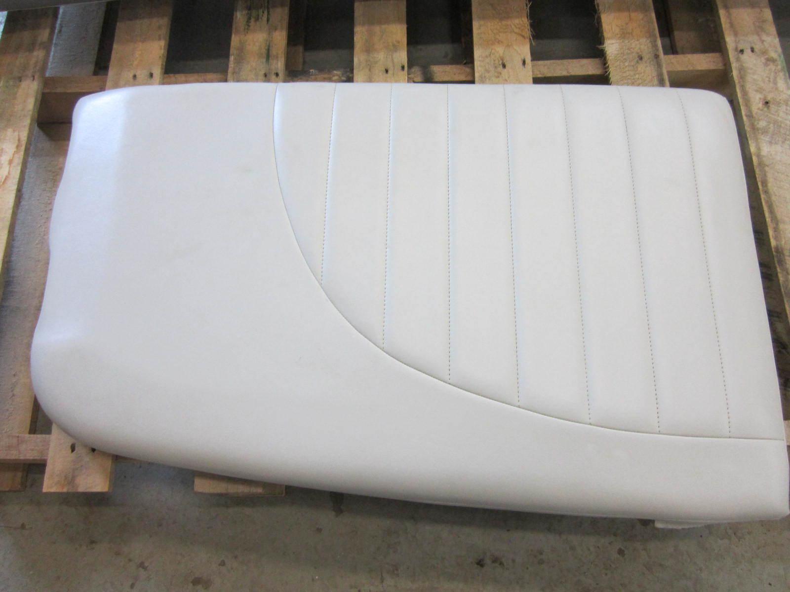 Mastercraft Ski Boat Seat Cushion White Vinyl Ebay