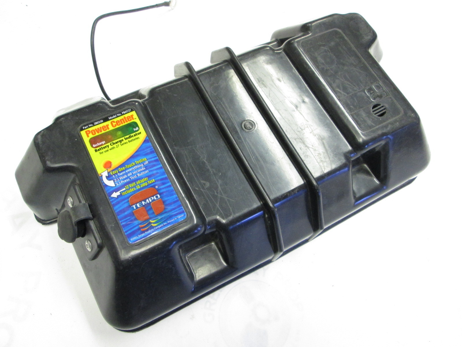 280350 Tempo Battery Box Power Center Cover For 27 Series Battery