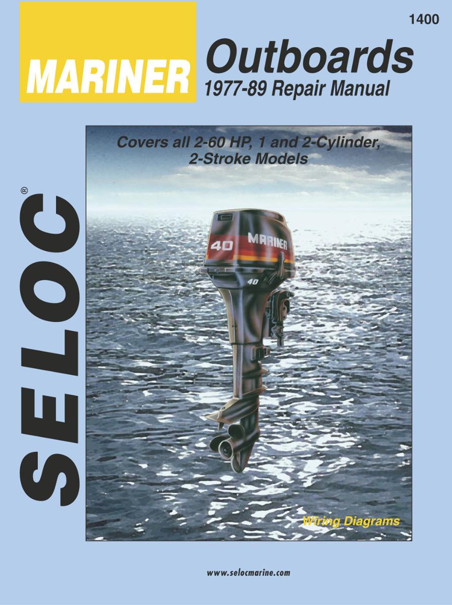 Mariner outboard 2 60 hp 1977 89 shop repair service for Outboard motor repair shop
