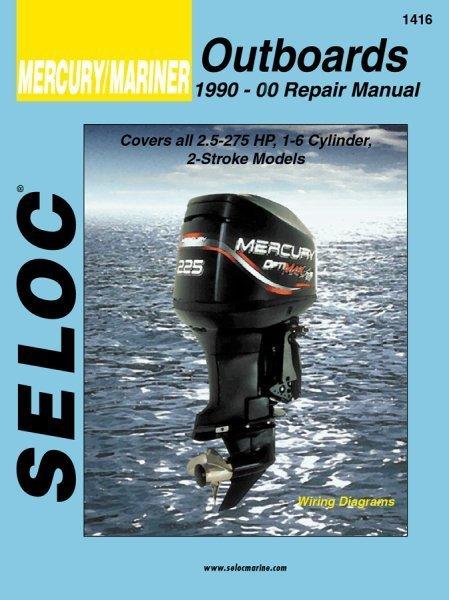 Mercury 2 250 hp outboard 1990 00 repair shop service for Outboard motor repair shop
