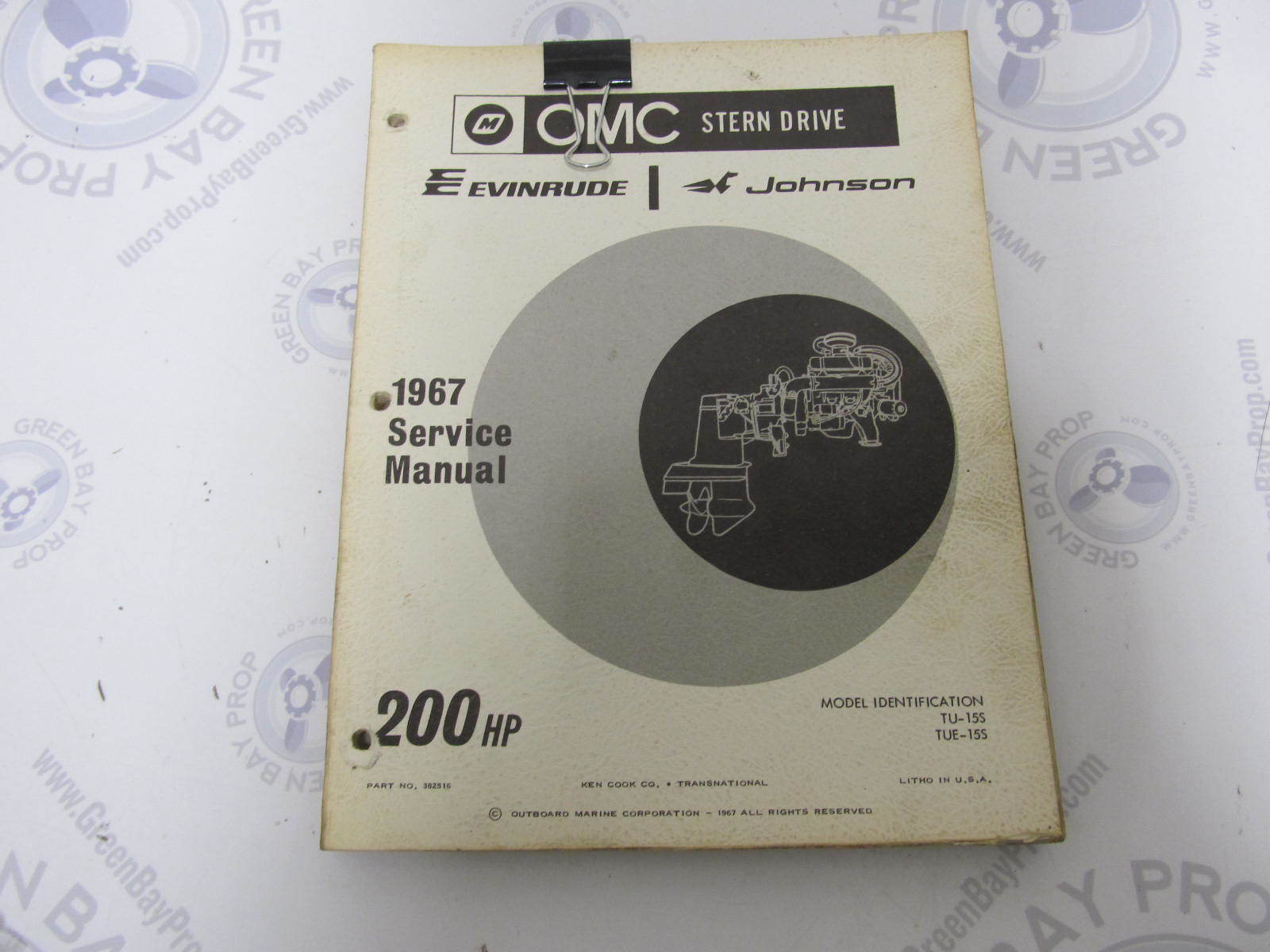 382516 omc evinrude johnson stern drive 200 hp 1967 service manual rh greenbayprop com OMC Sterndrive Diagnosis OMC Sterndrive Lubrication