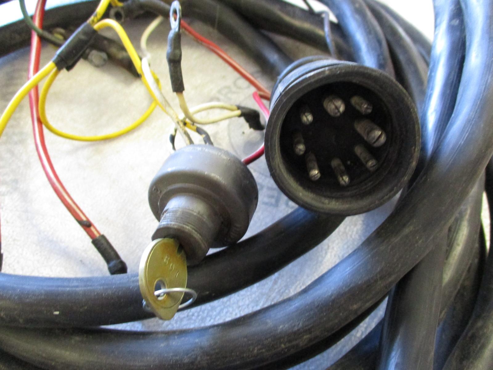 46996 Mercruiser Stern Drive 20 U0026 39  Engine To Dash Wire Harness Cable 8 Pin Plug
