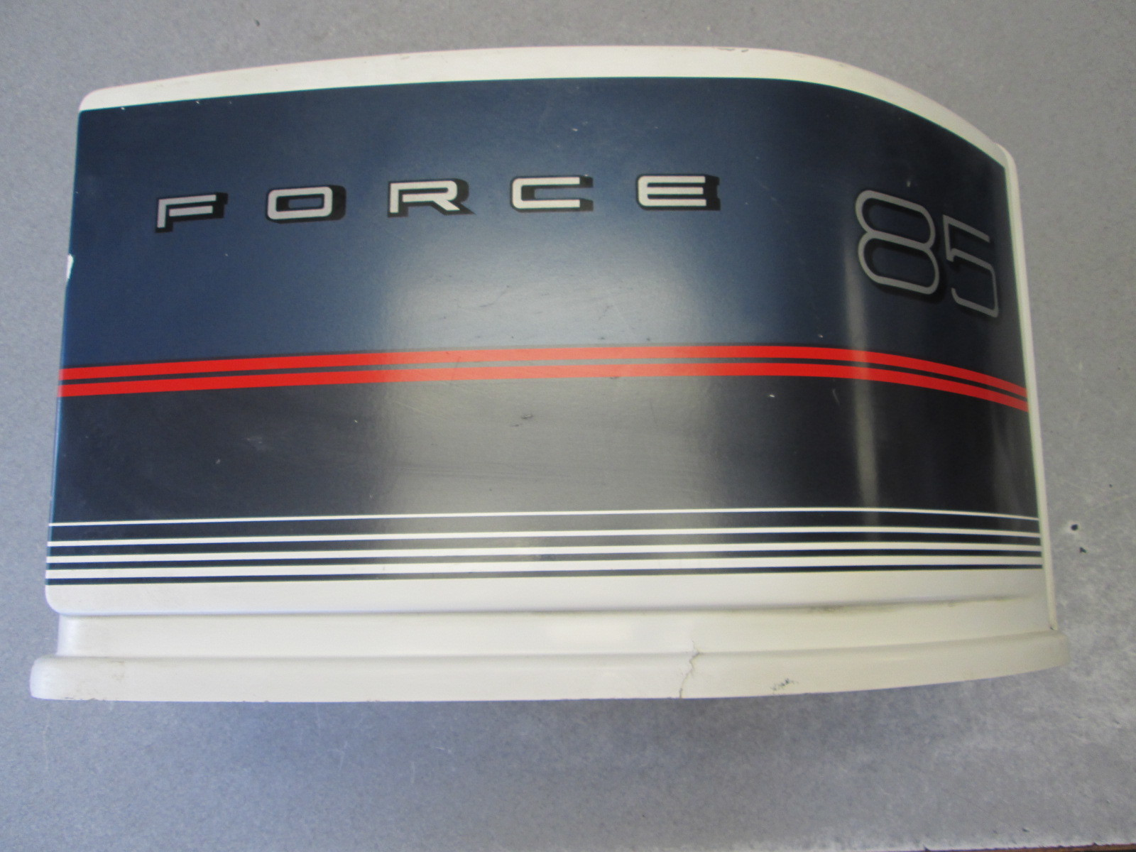 1986 Force Outboard 85 Hp 3 Cyl Engine Cowling Motor Cover Top Cowl Hood Cap
