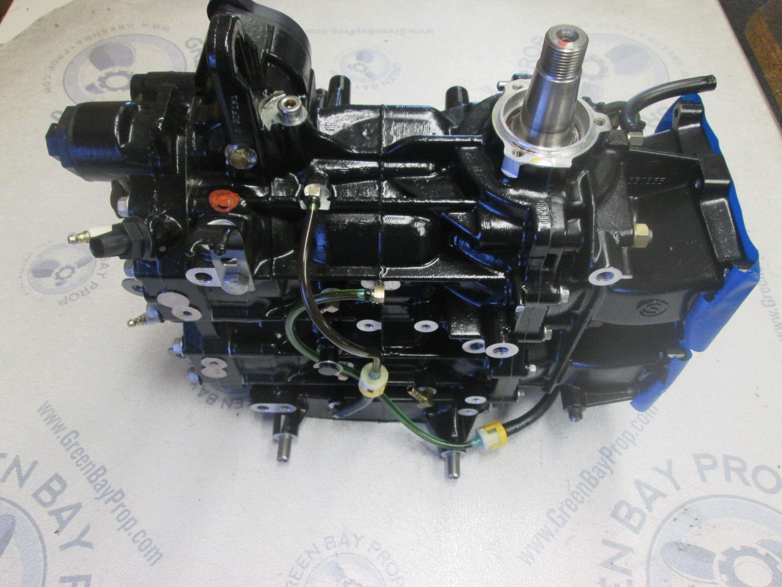 5007396 2009 Evinrude E Tec 40hp 2cyl Power Head Ebay