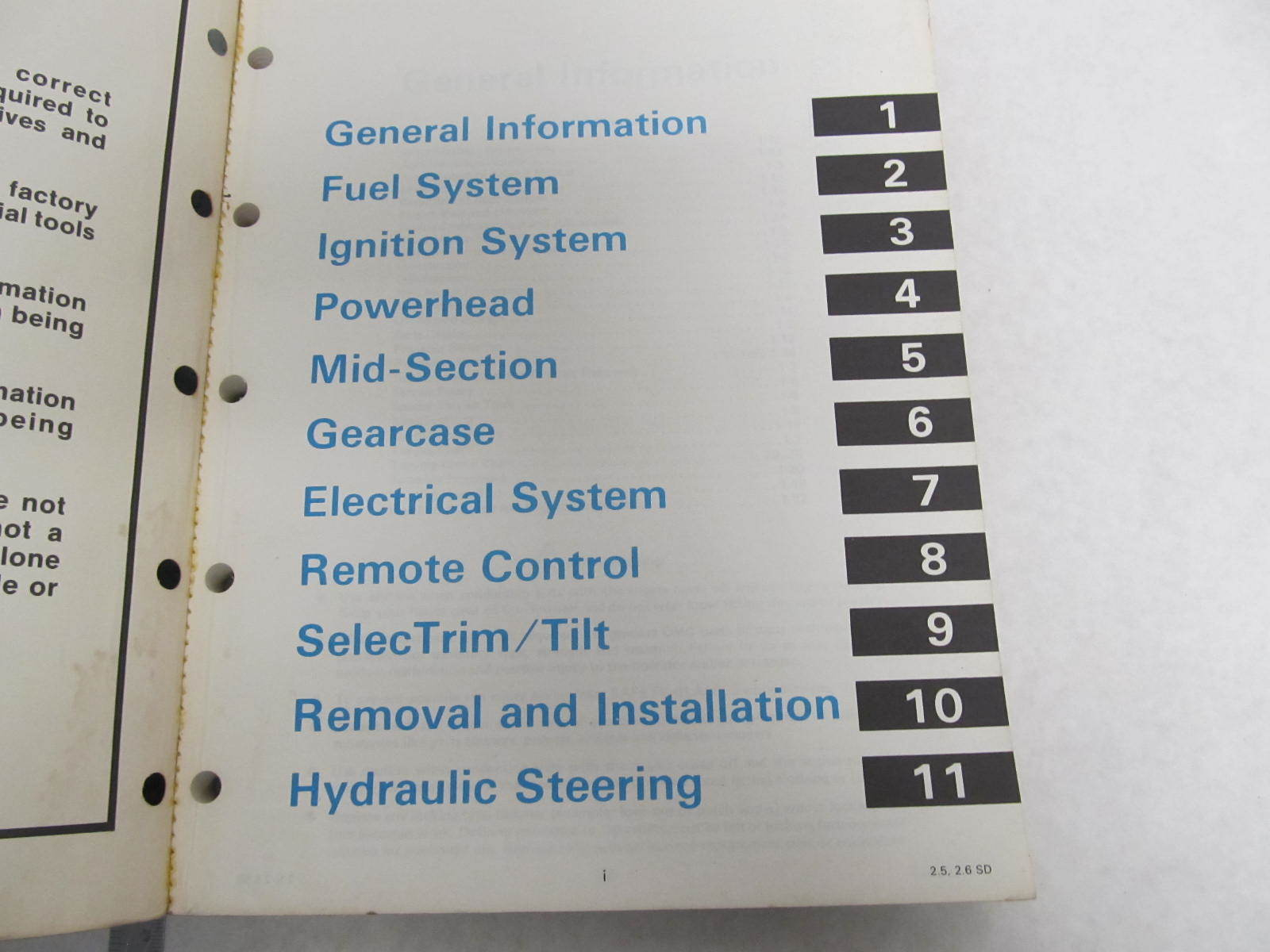 507513 1985 omc sea drive outboard service manual 2 5l 2 6l s type rh greenbayprop com OMC Ignition Wiring Diagram 1967 Johnson 40 Wiring-Diagram