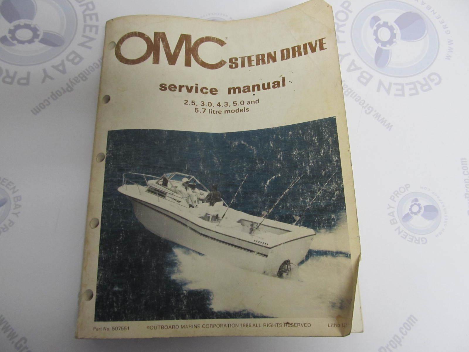 507551 1986 omc stern drive engine service manual 2 5l 5 omc cobra sterndrive repair manual omc sterndrive repair manual pdf