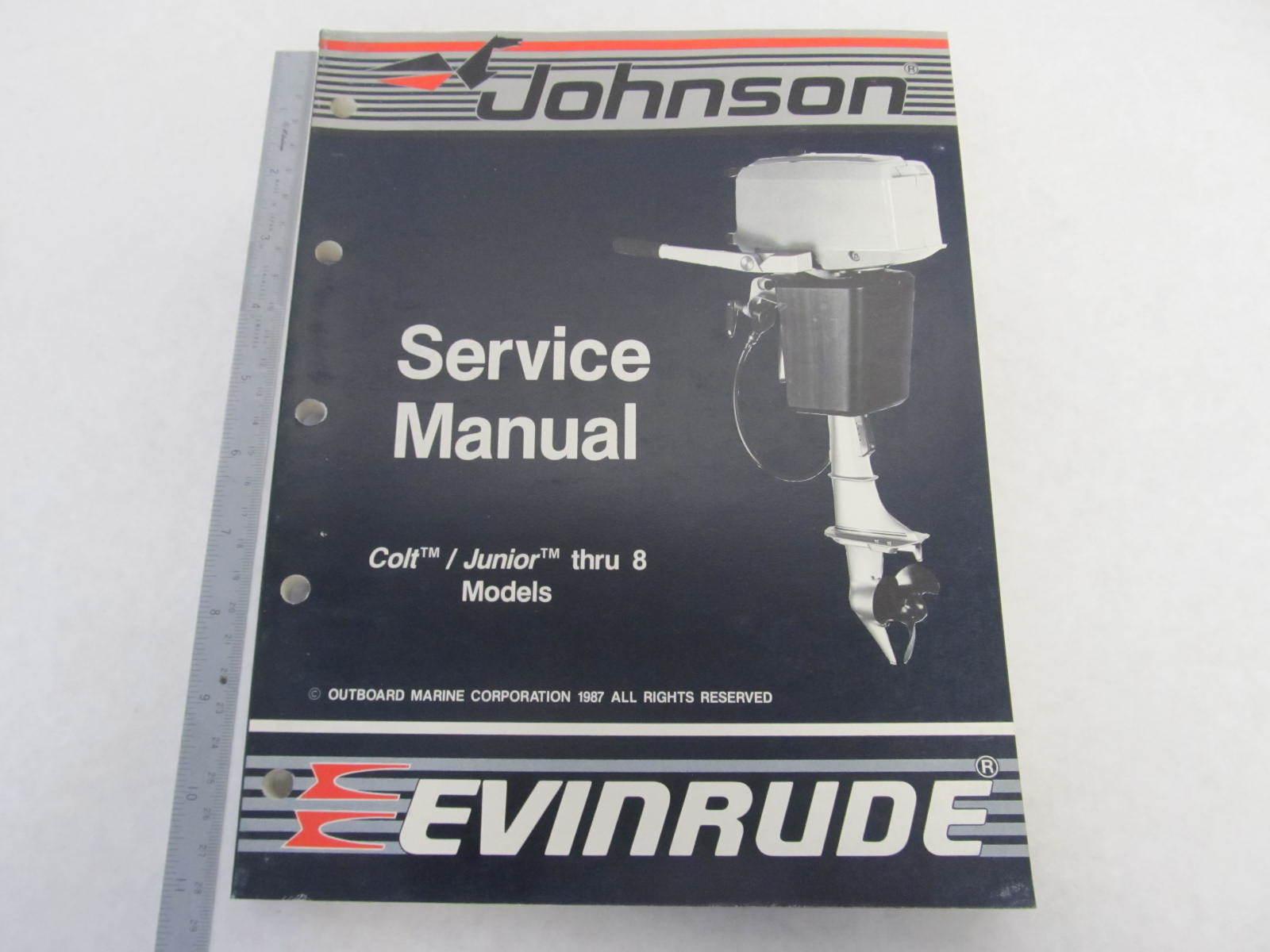 507659 Johnson Evinrude Outboard Service Manual  U0026quot Cc U0026quot  Colt