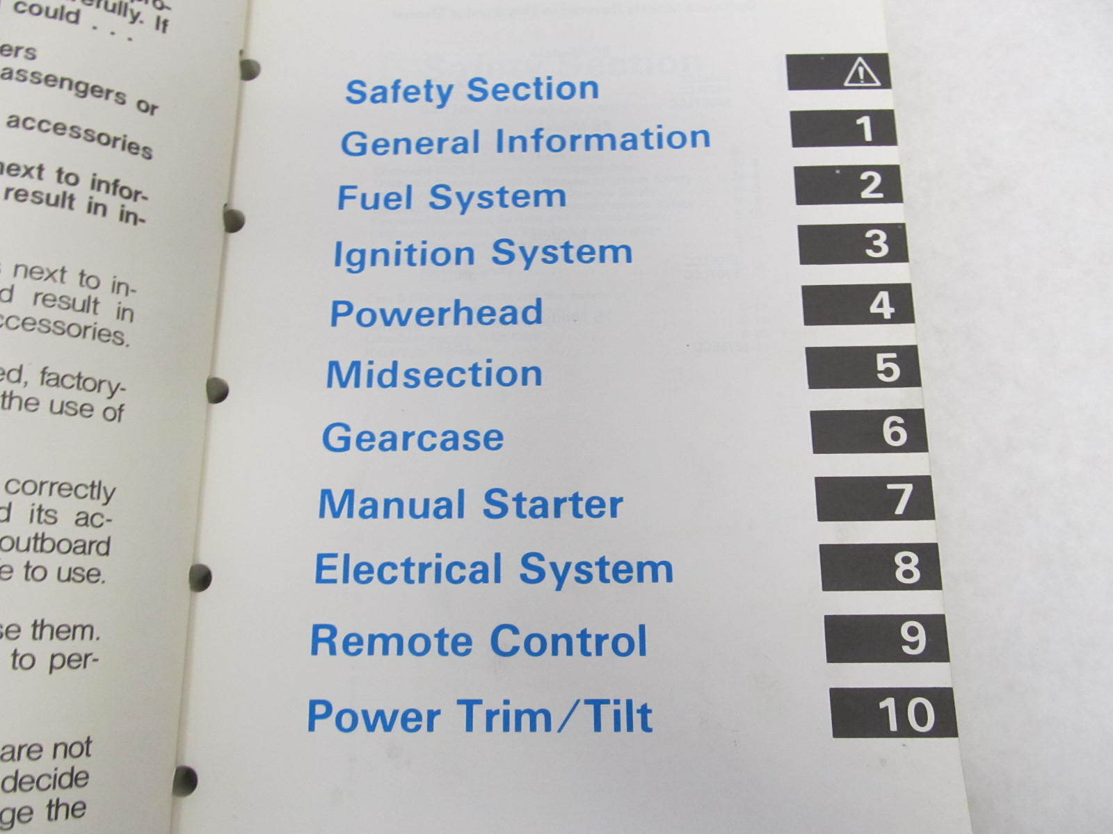 1988 Johnson 30 Hp Outboard Service Manual