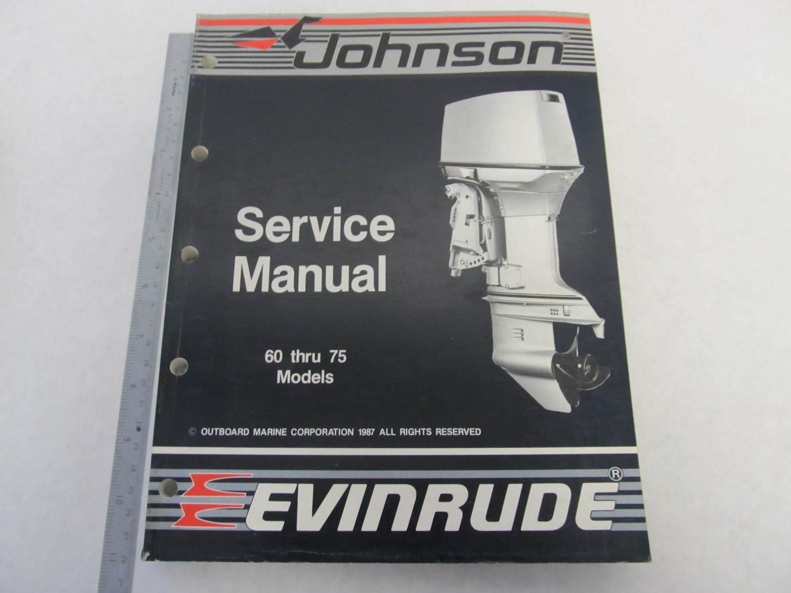 507662 johnson evinrude outboard service manual  quot cc quot  60 75 omc repair manual pdf omc repair manual pdf