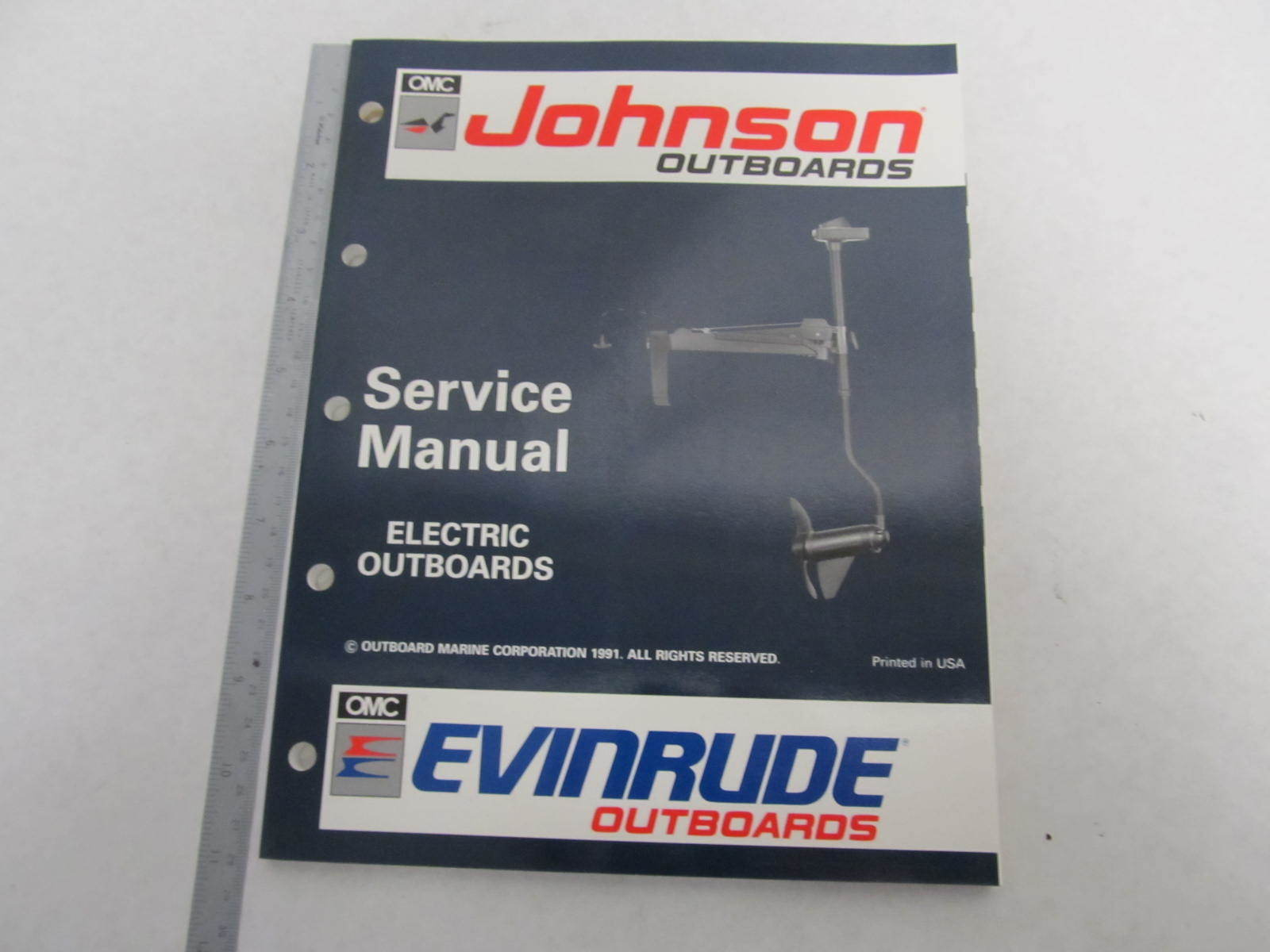 508140 Evinrude Johnson Outboard Service Manual En