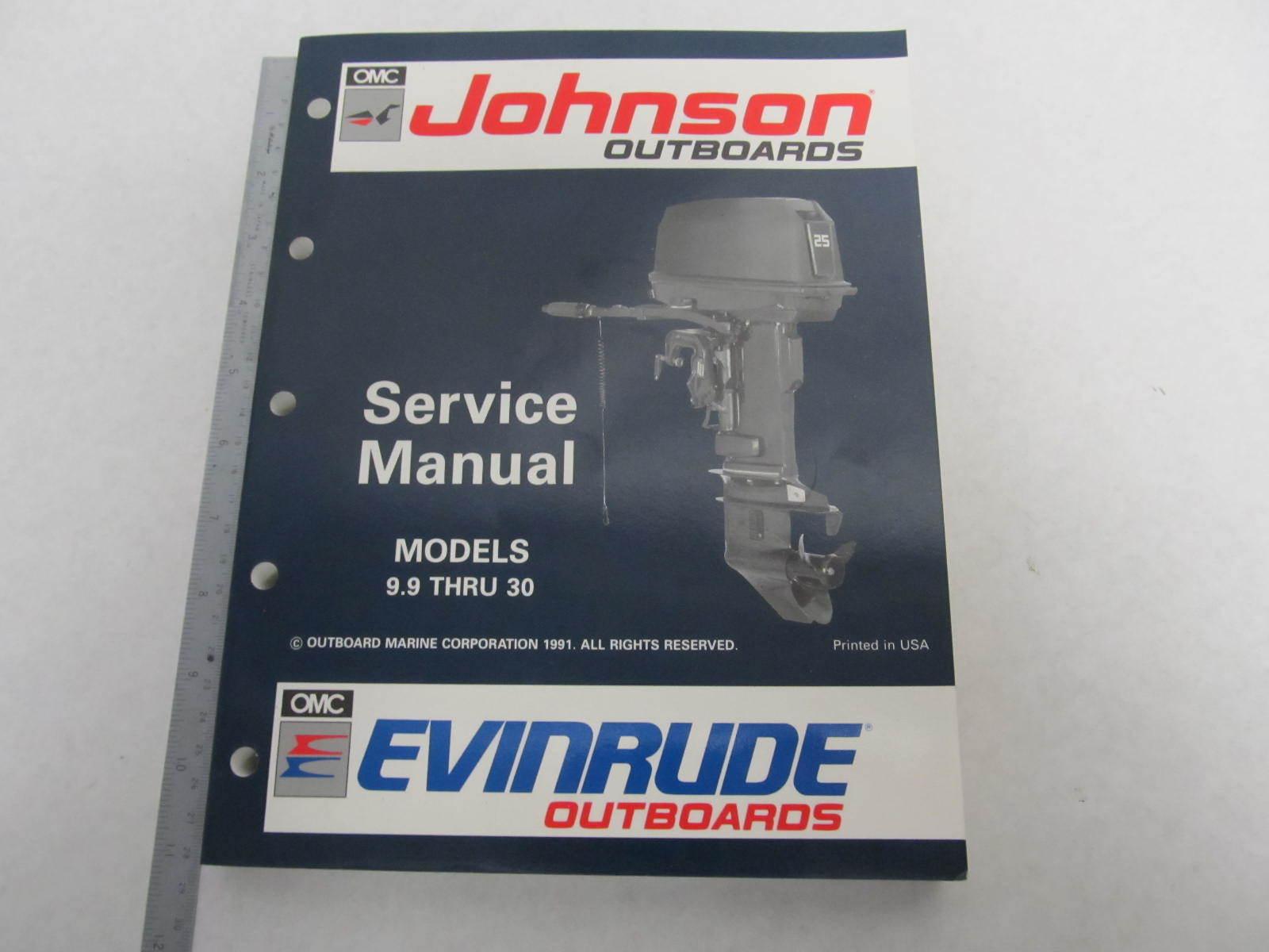 508142 Evinrude Johnson Outboard Service Manual En 9 9