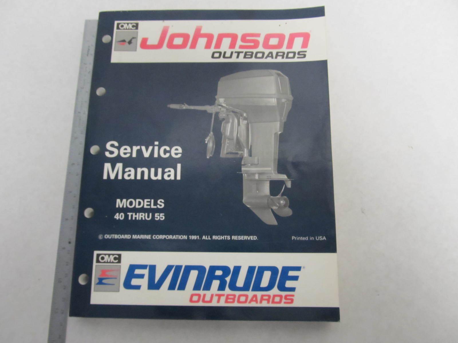 508143 Evinrude Johnson Outboard Service Manual En 40 55