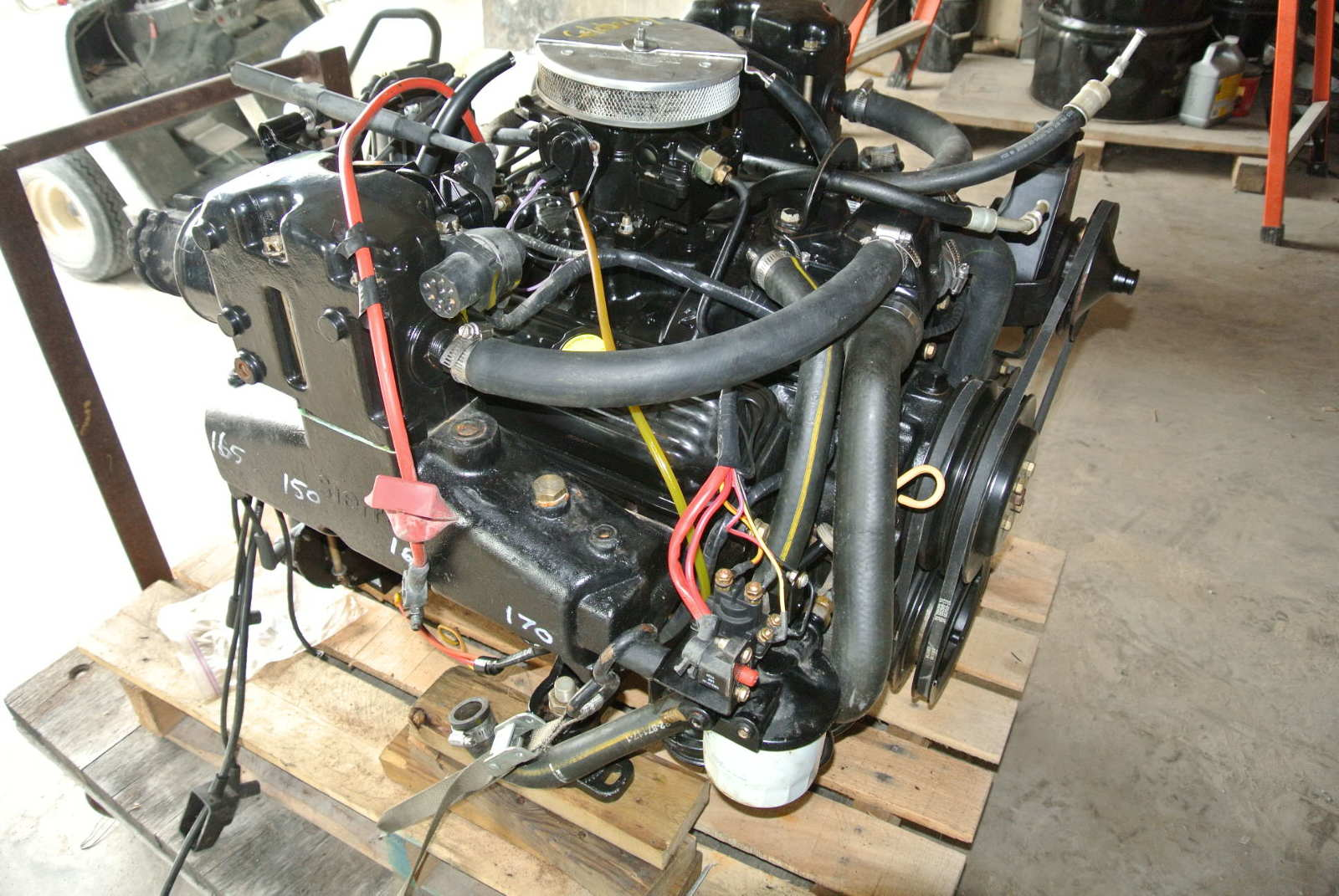 5364 mercruiser 50 engine v8 chevy 305 motor complete plug n go mercruiser 5 0 engine v8 chevy 305 motor complete plug n go  at gsmportal.co