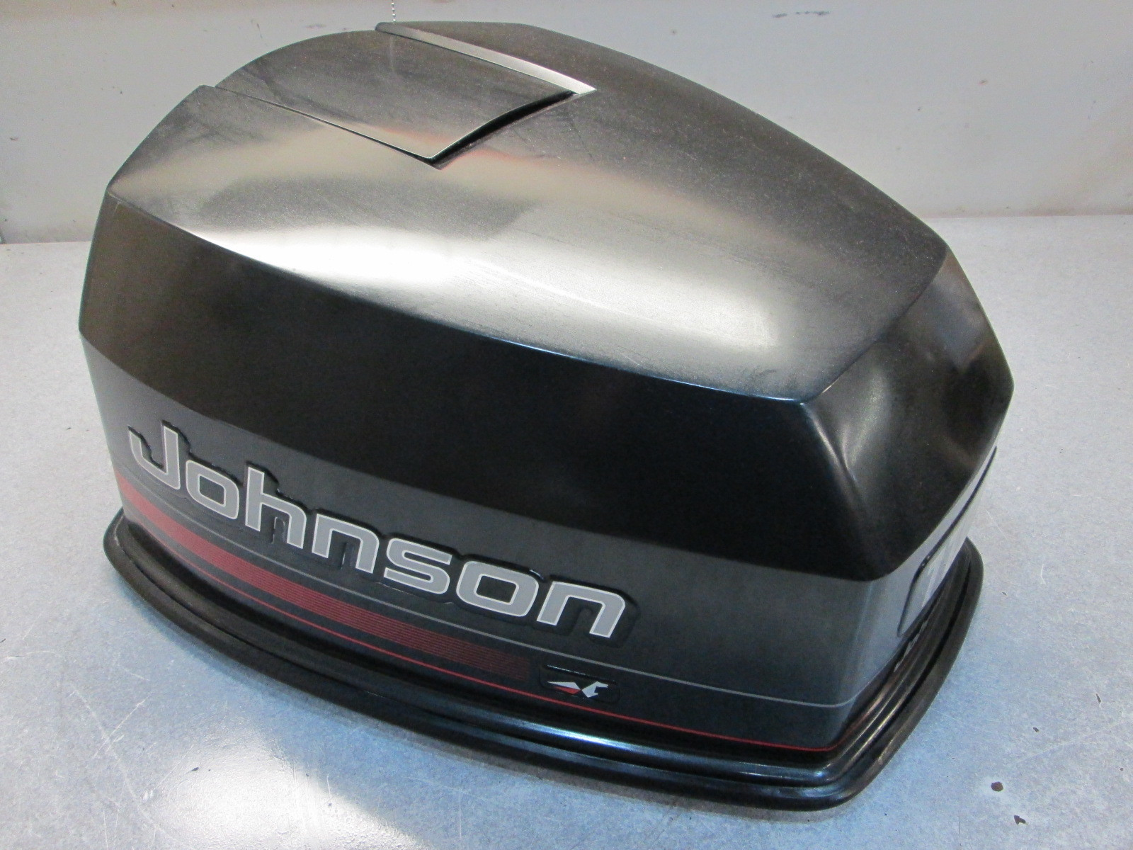 284739 johnson outboard top engine cover cowl 1995 88 90 for 115 johnson outboard motor