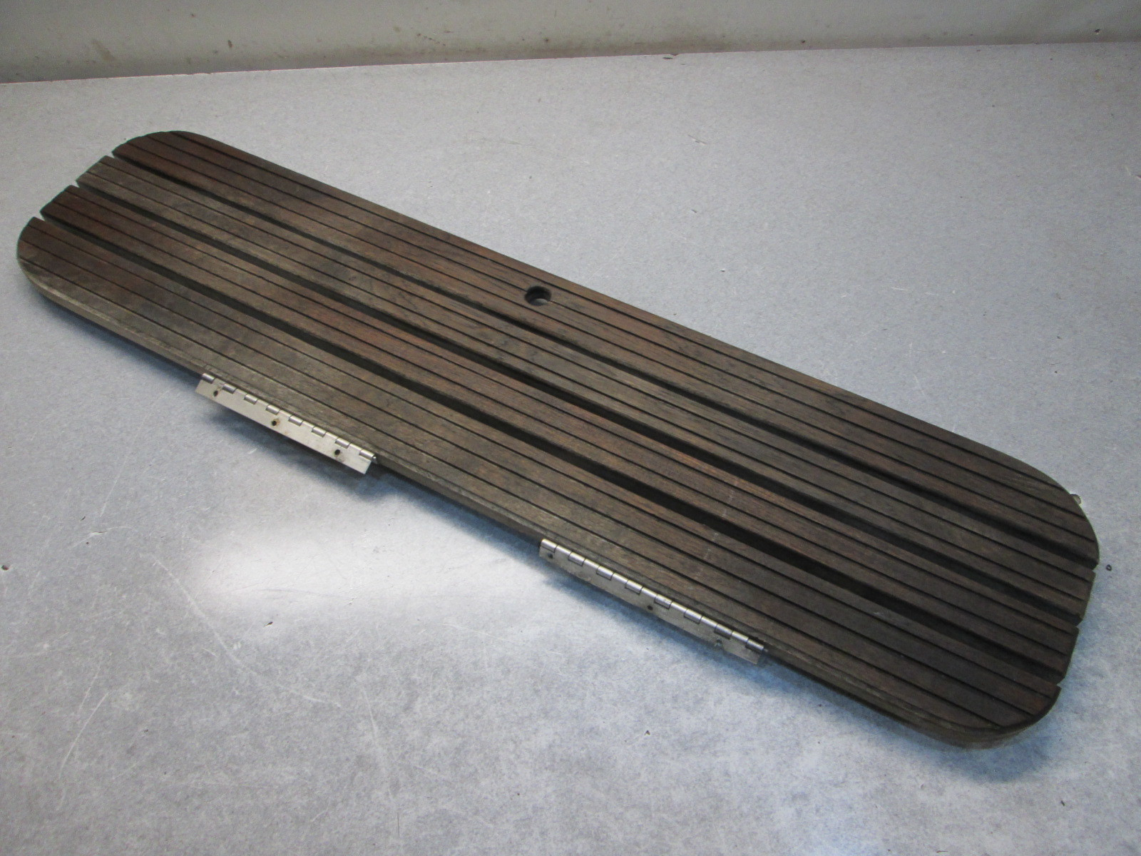details about teak wood boat floor deck hatch cover 41 3 4 x 10