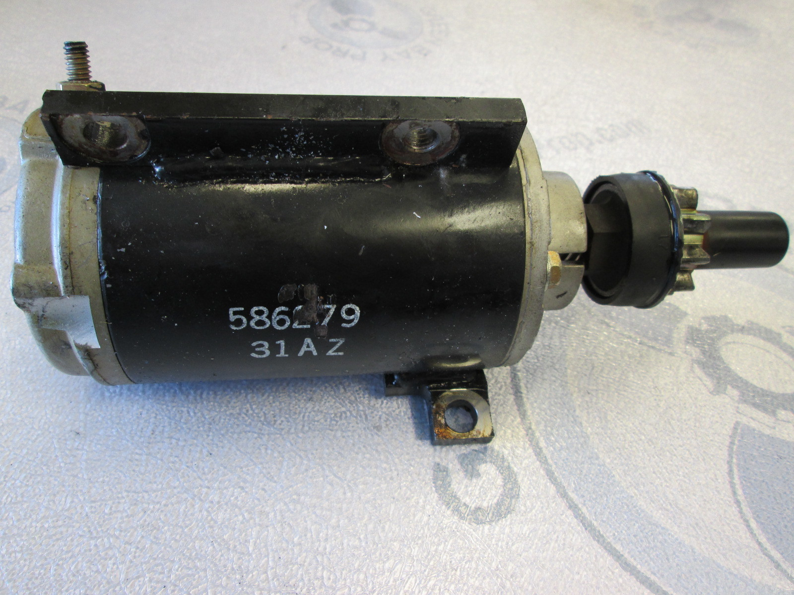 0586279 evinrude johnson outboard electric motor starter