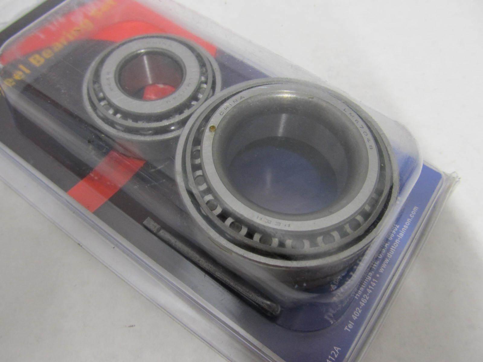 6506 Dutton Lainson Trailer Wheel Bearing Set 1 1 4 X 1 3