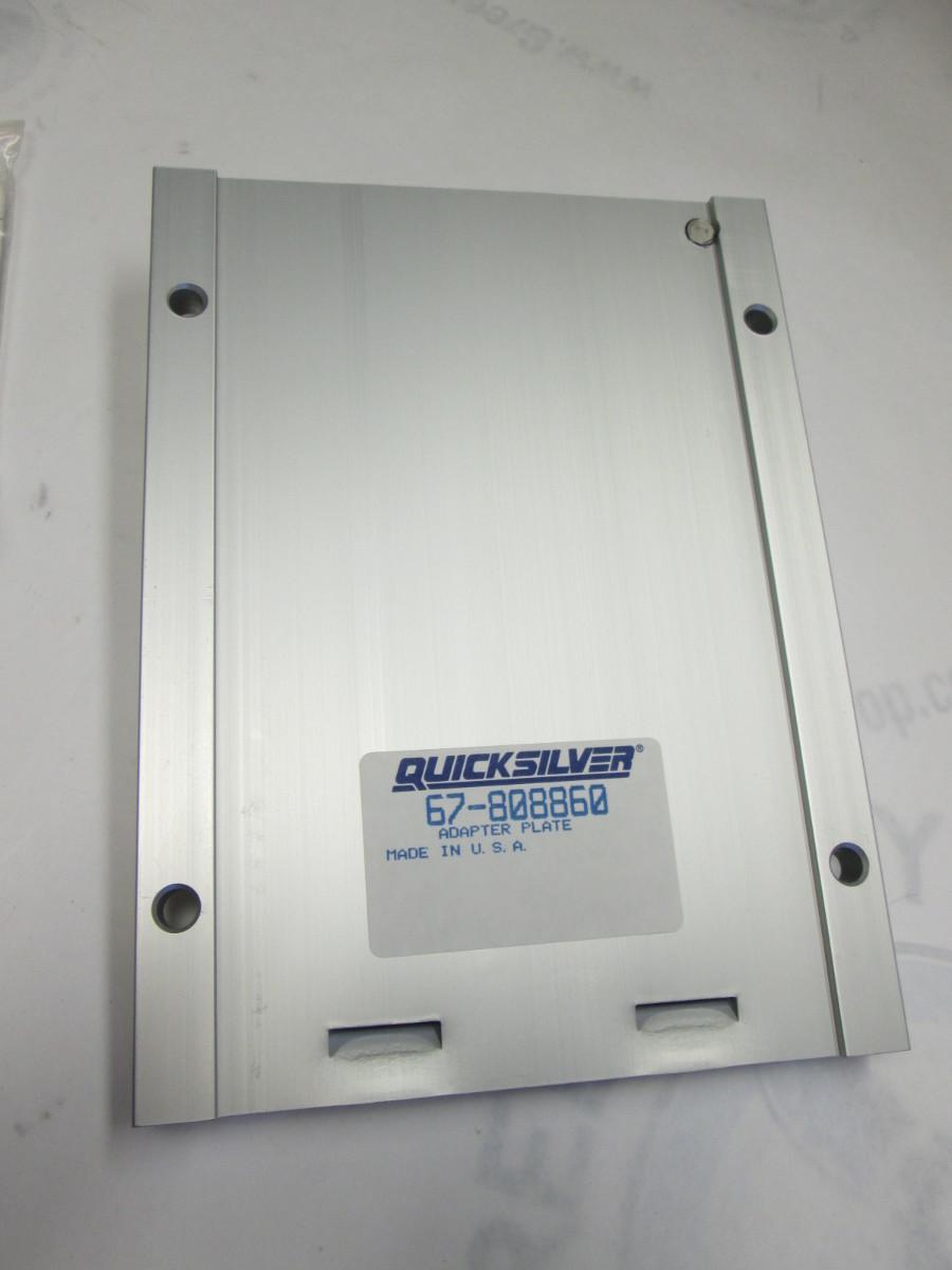 67 808860 Mercury Kicker Trolling Motor Mount Bracket