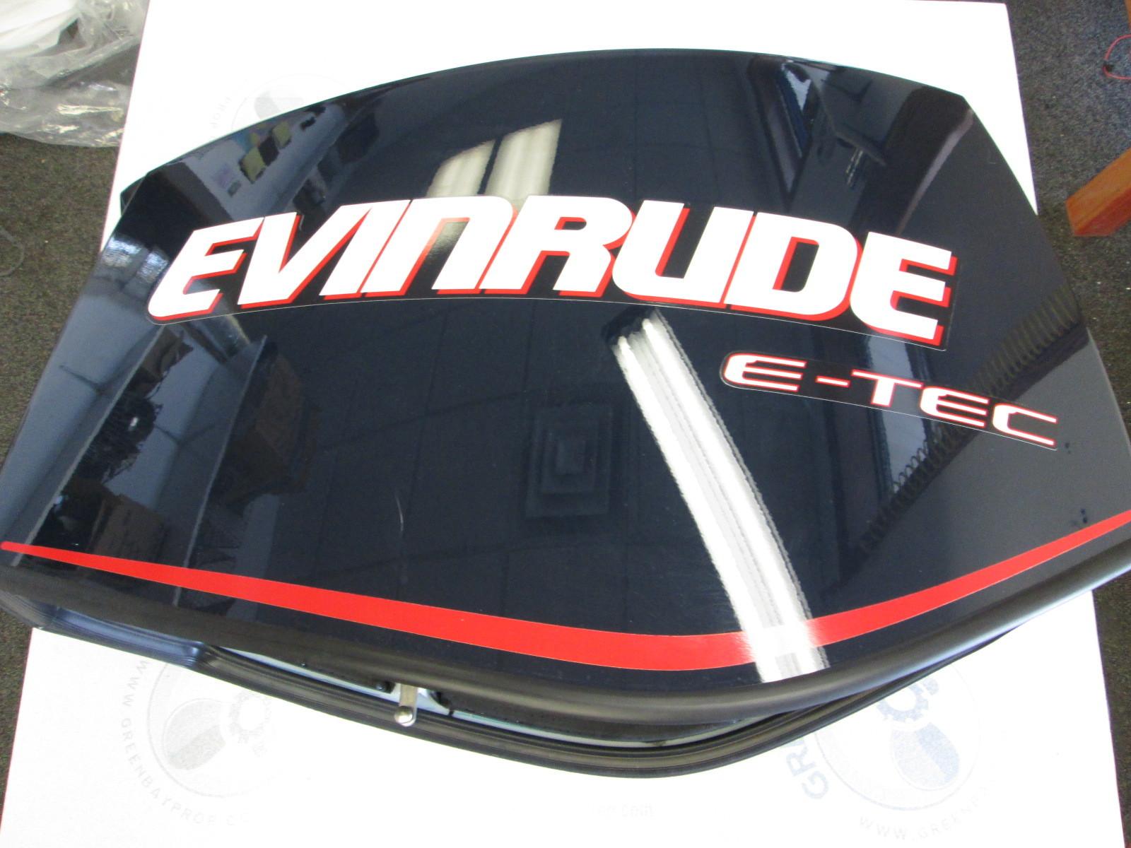285658 evinrude e tec 135 150 175 hp blue engine cowling. Black Bedroom Furniture Sets. Home Design Ideas
