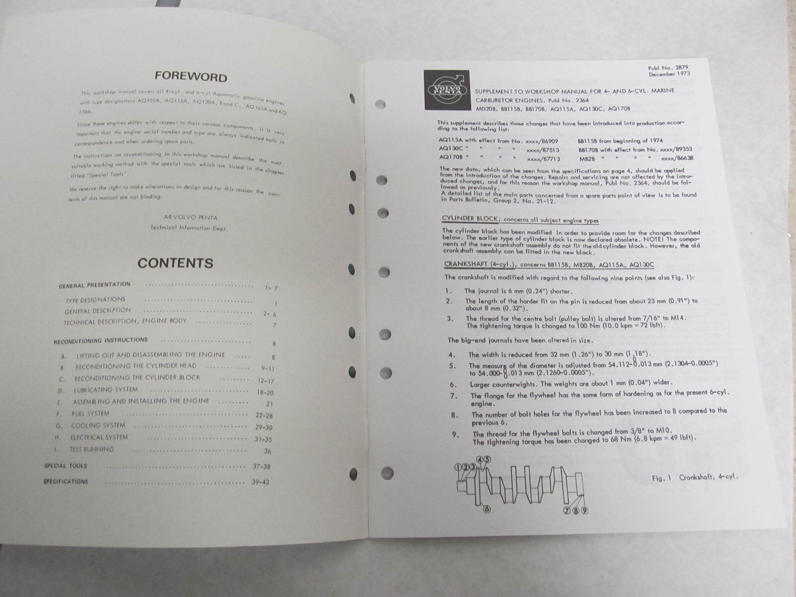 7723640 4 1970 73 volvo penta aquamatic service workshop Volvo Penta Shop Manual Volvo Penta Shop Manual