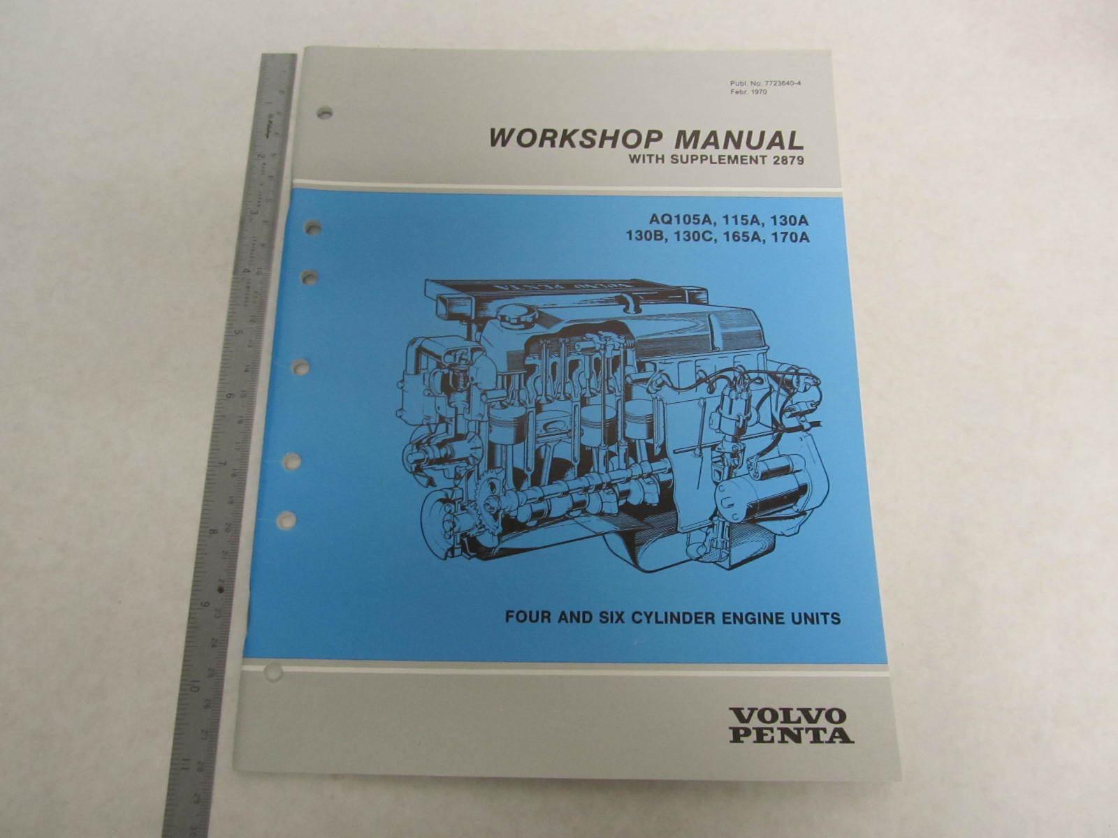 7723640 4 1970 73 volvo penta aquamatic service workshop Volvo Penta Parts Volvo Penta Engine Manuals