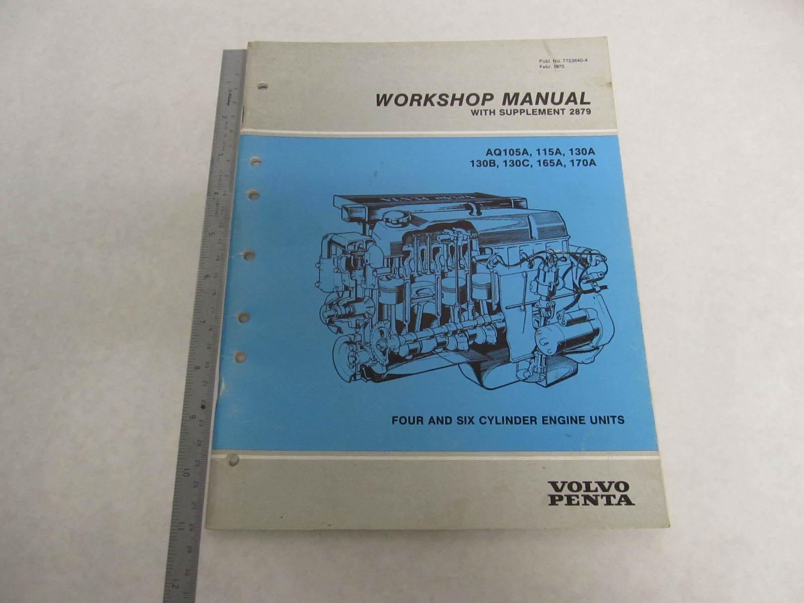 7723640 4 1970 volvo penta aquamatic service workshop Volvo Penta Outdrive Volvo Penta Parts