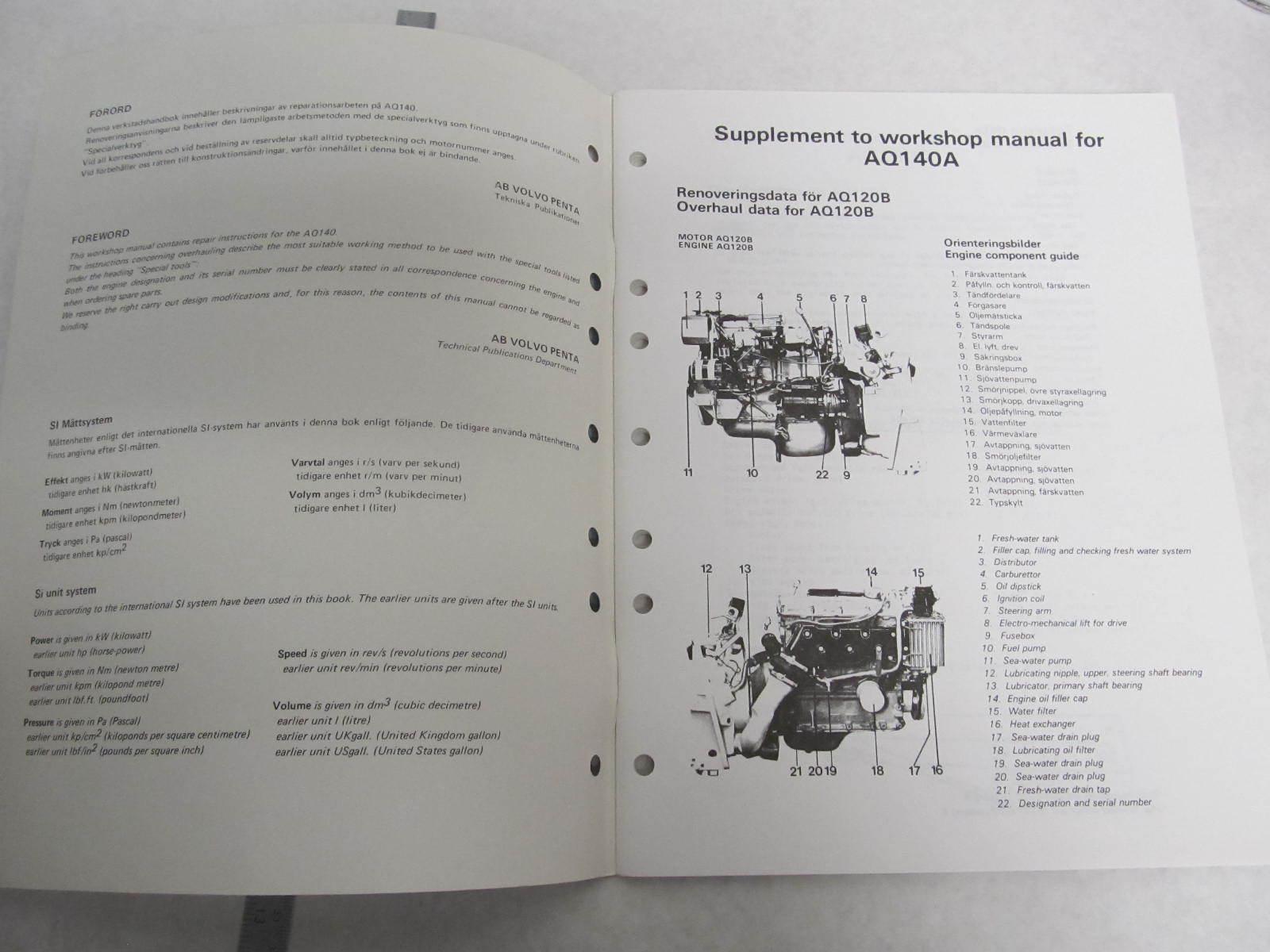 Free Volvo Penta Repair Manual Aq130c Engine Diagram