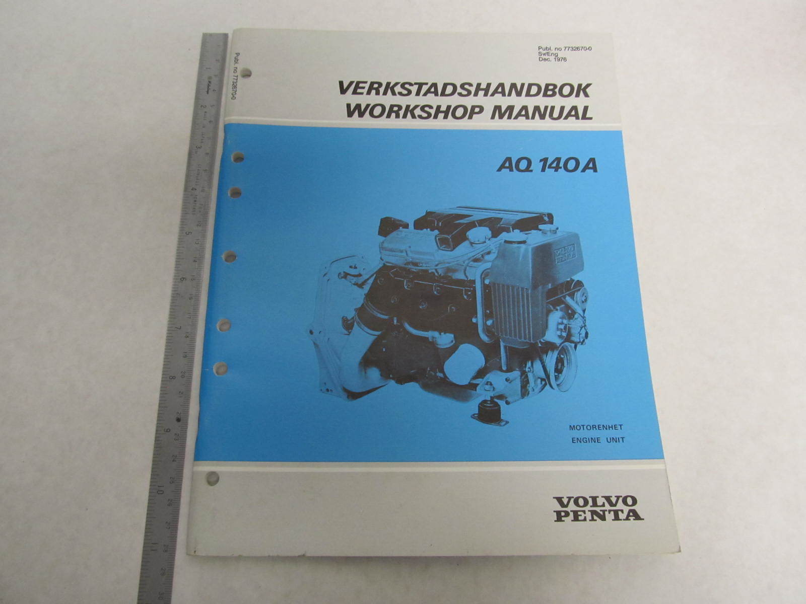 7732670 0 volvo penta aquamatic service workshop manual aq 140a ebay Ford Workshop Manuals Haynes Workshop Manuals