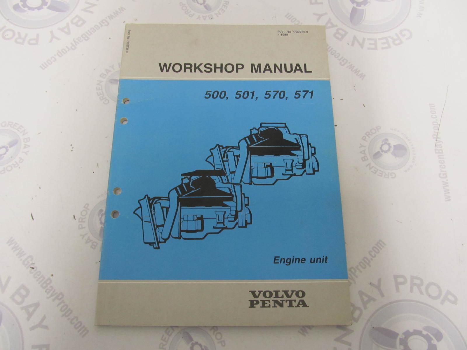 7732736 9 volvo penta workshop manual 500 501 570 571 engine unit rh greenbayprop com Volvo Penta Wiring Harness Volvo Penta Lower Unit